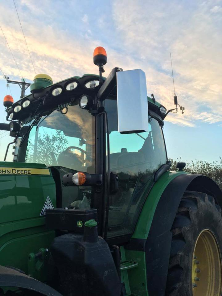 Mirror Guards To Fit John Deere R Series Large Electric
